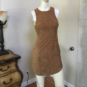 LF Suede Lace Up Dress